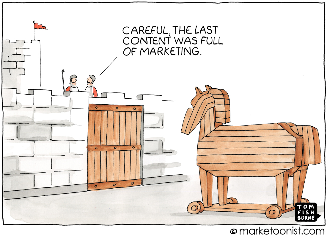 Marketoonist, Content Marketing, Write, Raj Singh | LA