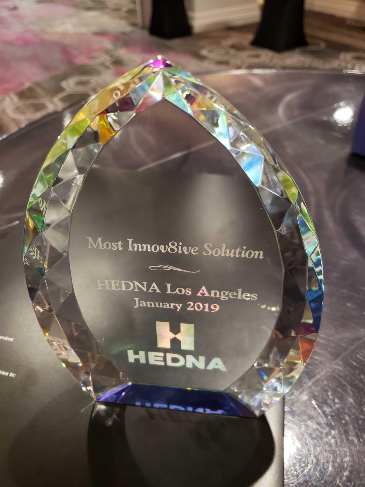 HEDNA 2019 award